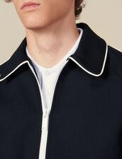 Bomber Jacket : Jackets color Navy Blue