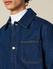 Denim Workwear Jacket : Jackets color Blue Vintage - Denim