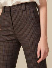 Checked Pants : Pants & Shorts color Multi-Color