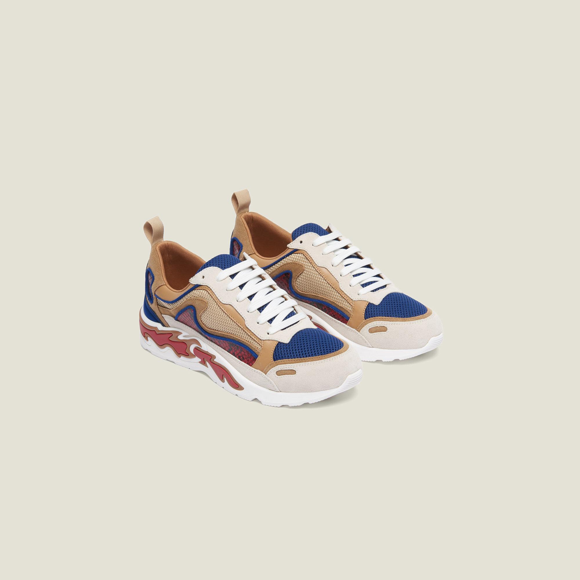 Flame sneakers - Sneakers | Sandro Paris