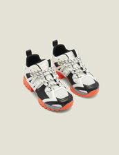 Hiking shoes : Shoes color white