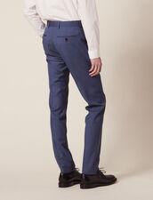 Wool Suit Pants : Suits & Blazers color Bluish Grey