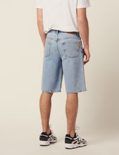 Denim Bermuda Shorts : Pants & Jeans color Blue Vintage - Denim