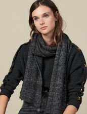 Lurex scarf : Scarves color Dark Grey