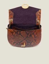 Pépita Bag : Bags color PYTHON CAMEL