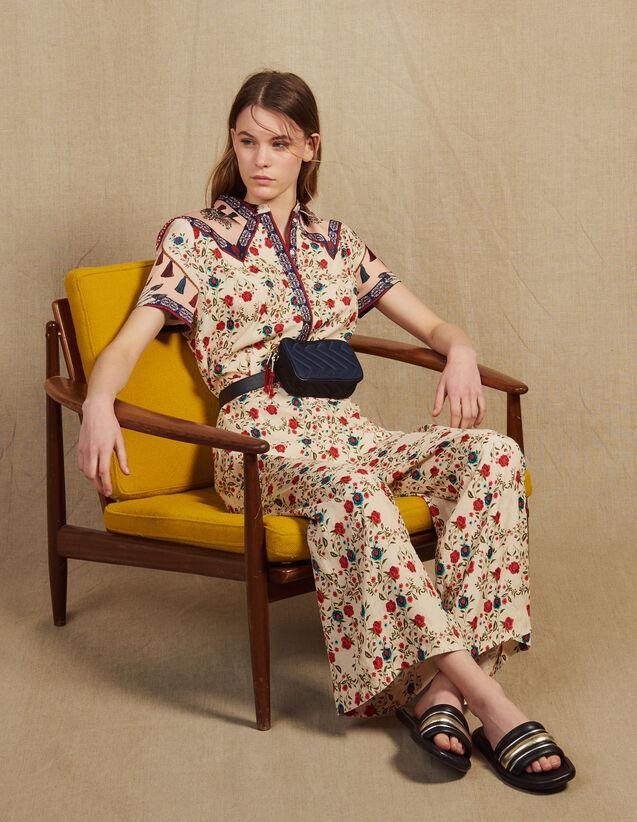 Printed Jumpsuit : Pants & Shorts color Multi-Color