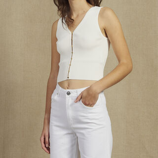 Ind, white, hi-res, | sandro-paris.com