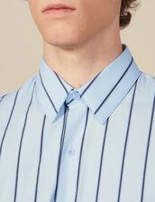 Striped Shirt : Shirts color BLUE / BLACK