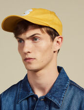 Cap With S Patch : Hats color Yellow