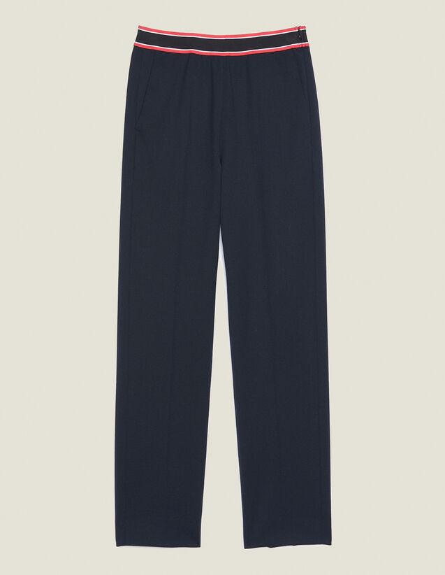 Straight-Cut Pants : Pants & Shorts color Navy Blue