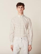 Fine Cotton Shirt : Shirts color Ecru