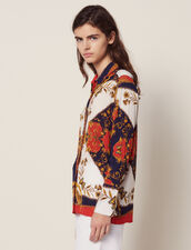 Long-Sleeved Printed Shirt : Tops & Shirts color Multi-Color