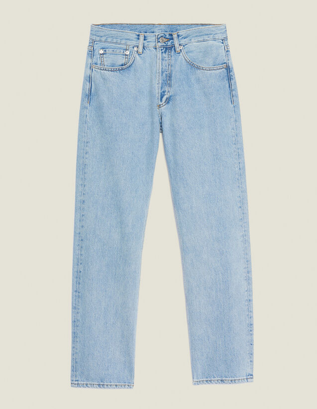 Straight-Cut Vintage Blue Jeans : Pants & Jeans color Blue Vintage - Denim