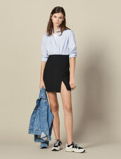 Two-In-One Short Dress : Dresses color Blue sky