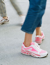 Flame Trainers : Shoes color Pink