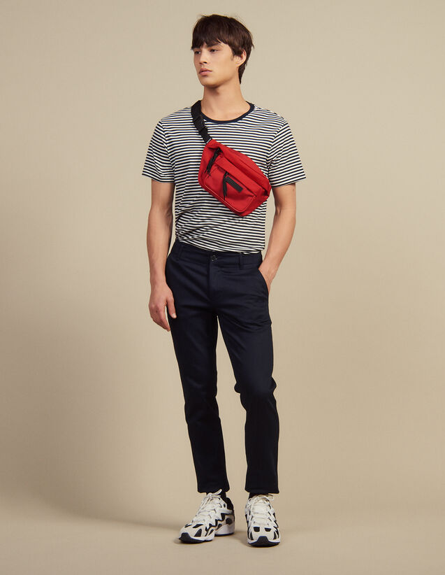 Straight-Leg Chino Pants : Pants & Jeans color Navy Blue