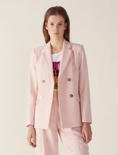 Matching Tailored Jacket : Coats & Jackets color Pink
