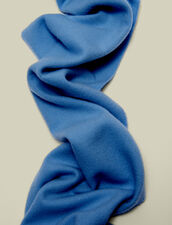 Wool and cashmere scarf : Scarves & Gloves color Charcoal Grey