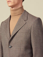 Houndstooth suit jacket : Suits & Blazers color Camel