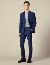 Classic super 110 suit pants : Suits & Blazers color Petrol