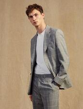 Classic Super 120 Suit Jacket : Suits & Blazers color Light Grey