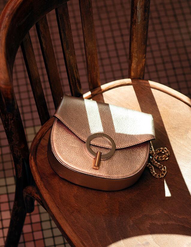 Pépita Bag, Small Model : Bags color Gold