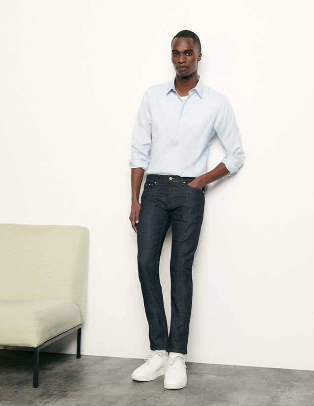 Raw denim skinny jeans : Spring Pre-Collection color Raw-Denim