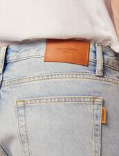 Light Washed Jeans - Narrow Cut : Pants & Jeans color Blue Vintage - Denim