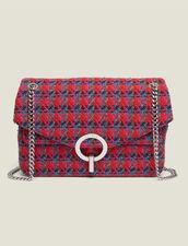 Yza Tweed Bag : Bags color Red