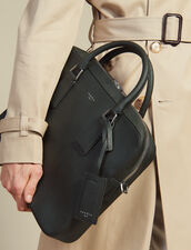 Saffiano Leather Briefcase : Bags color Green