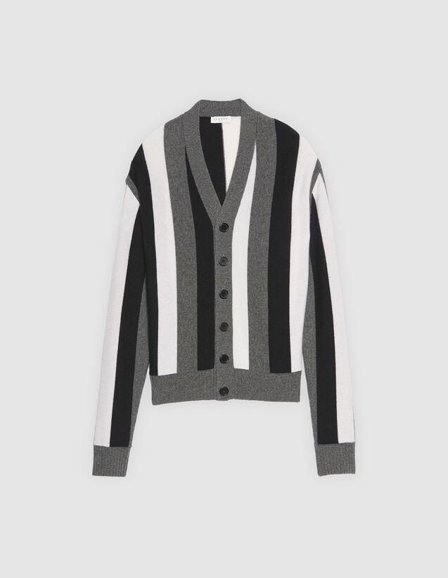 d1e3b74a54c Striped cardigan - Sweaters