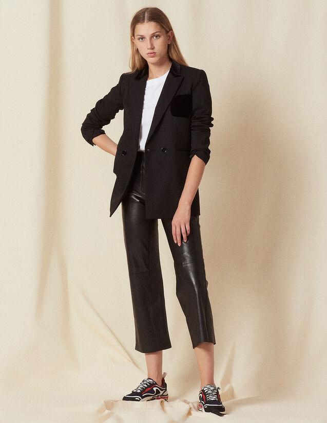Tailored Jacket : Jackets color Black