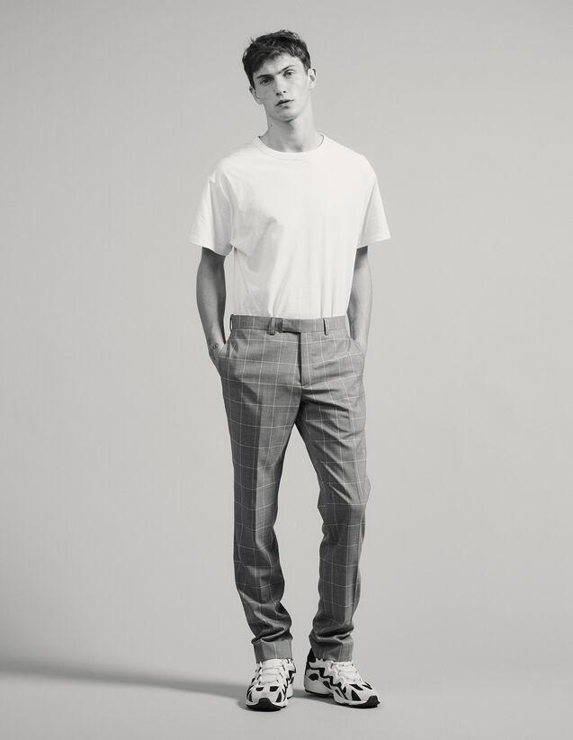 Classic Super 120 Suit Pants : Suits & Blazers color Light Grey