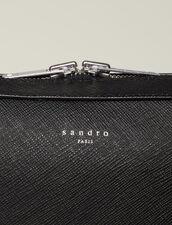 Saffiano leather briefcase : Spring Pre-Collection color Black