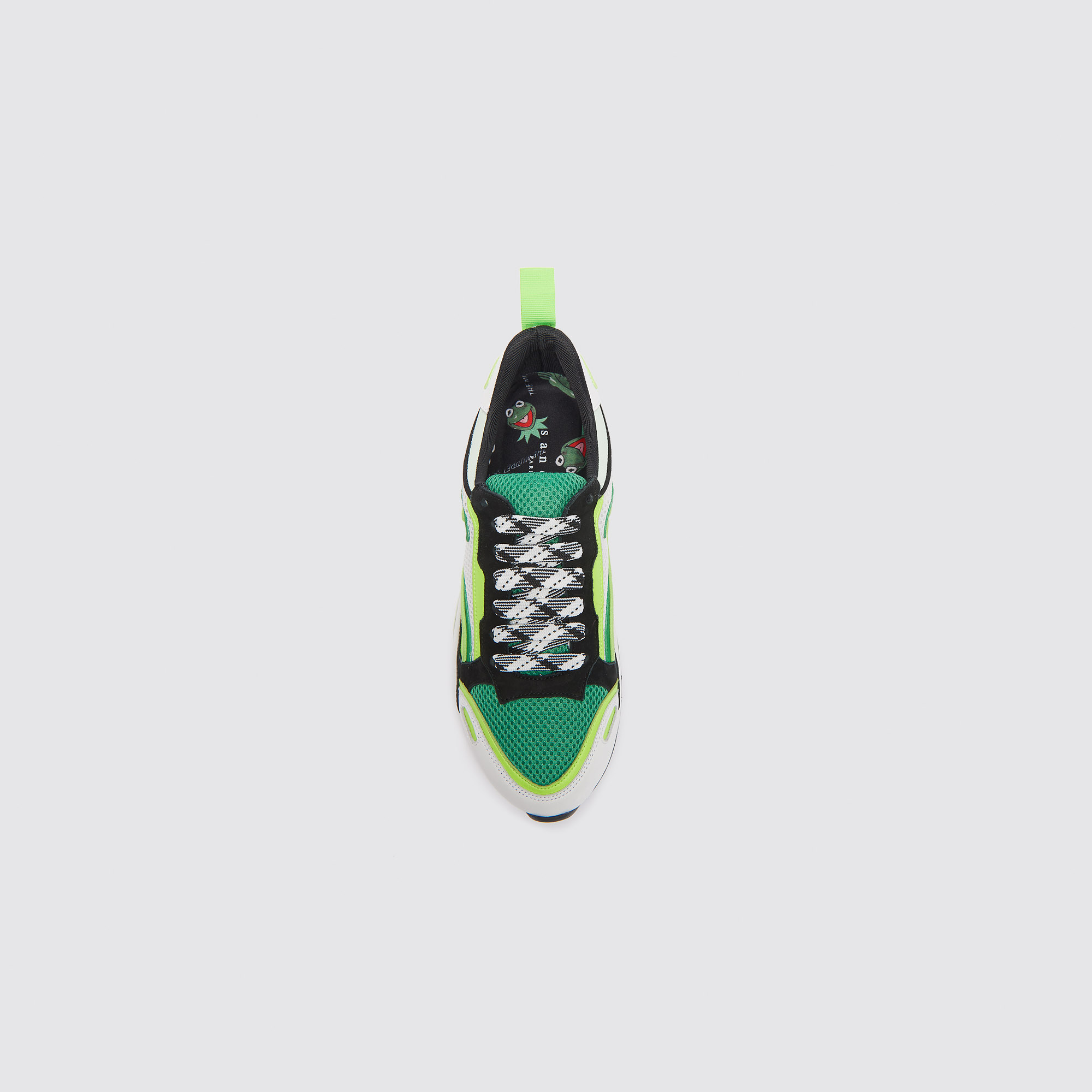 0683048a30 ... Flame sneakers   Shoes color Vert fluo ...