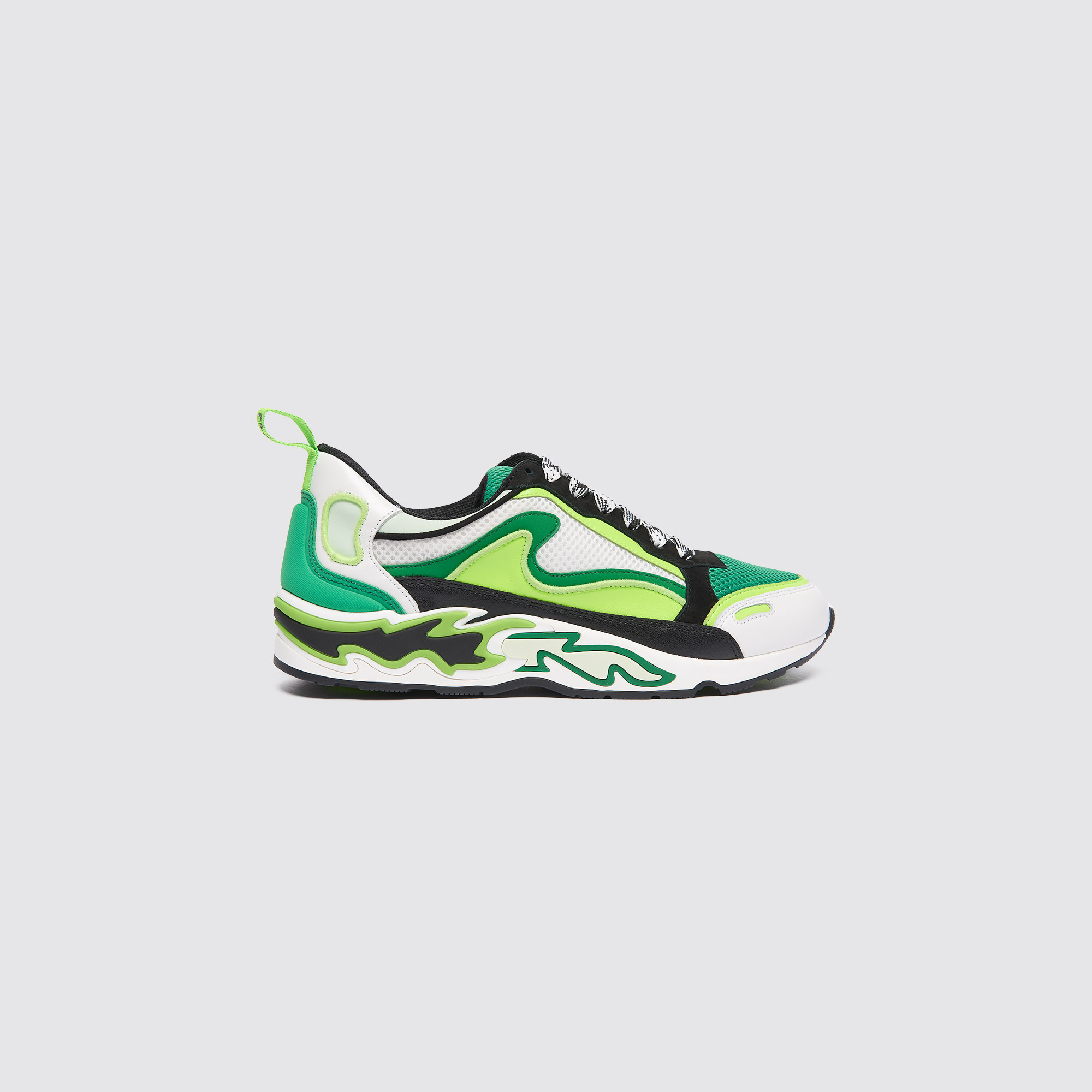 3be54bce25 Flame sneakers   Shoes color Vert fluo ...