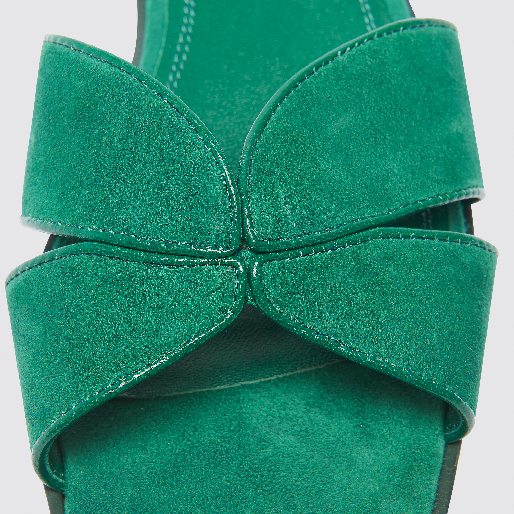 72368418dd95 Elly. Loading zoom. view full image size. Flat leather crossover sandals ...