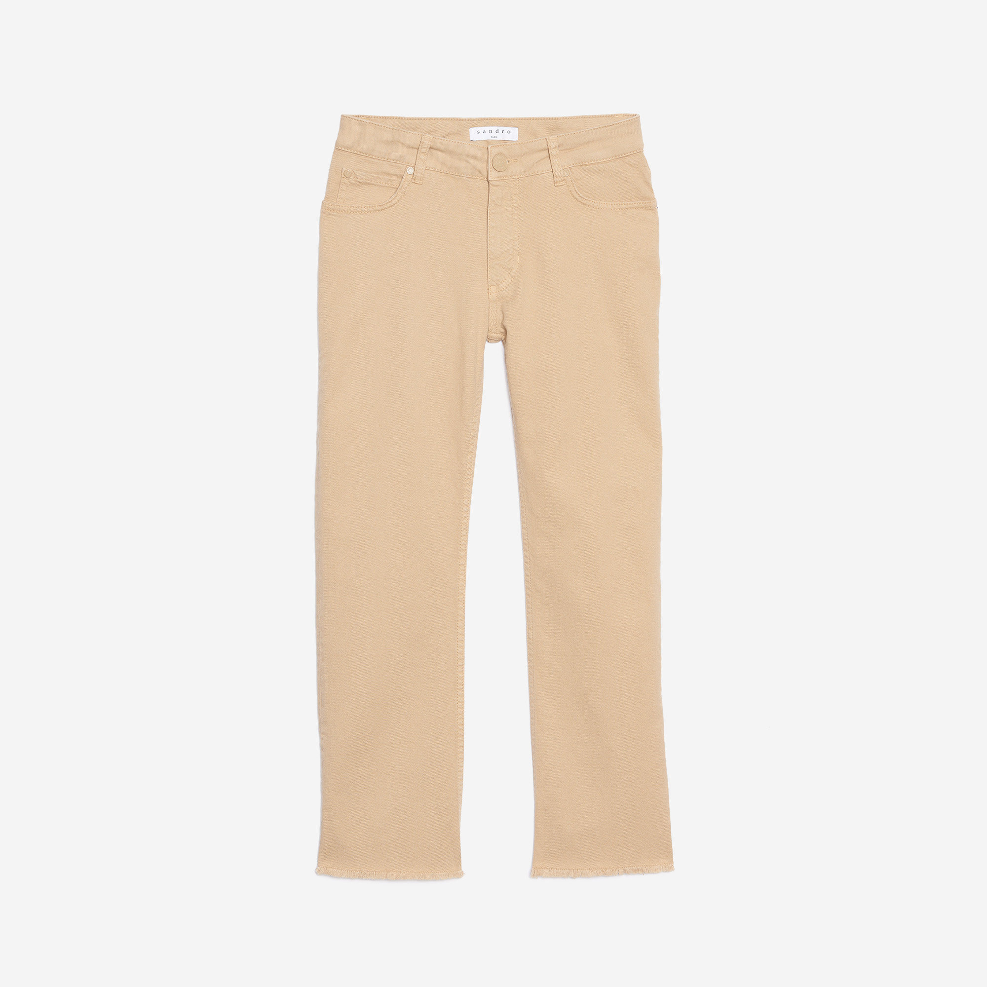ad71382b58 Straight Cut, Regular-Waisted Jeans : Warehouse Sale color Sand