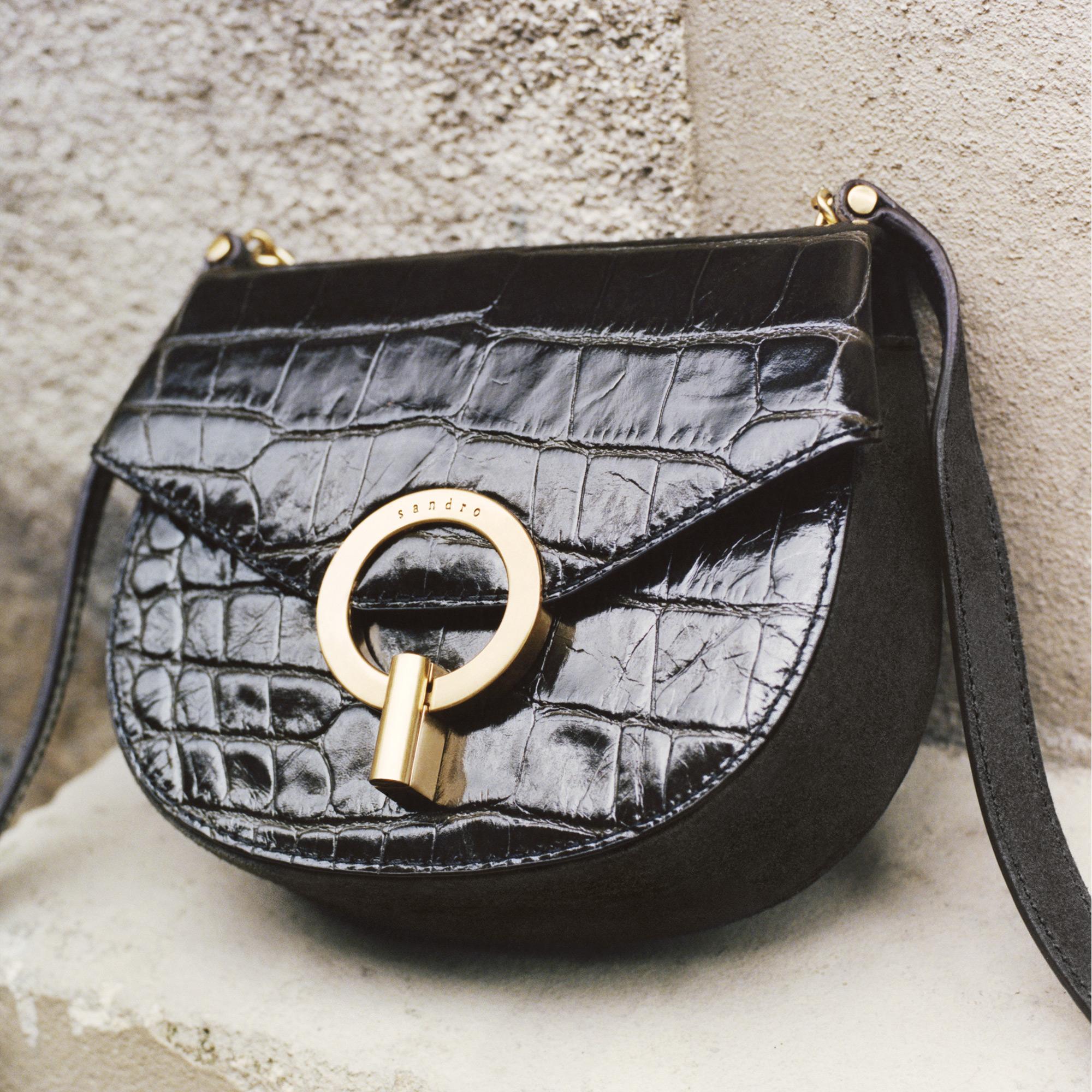 cc0318edbb81 Pepita embossed leather bag