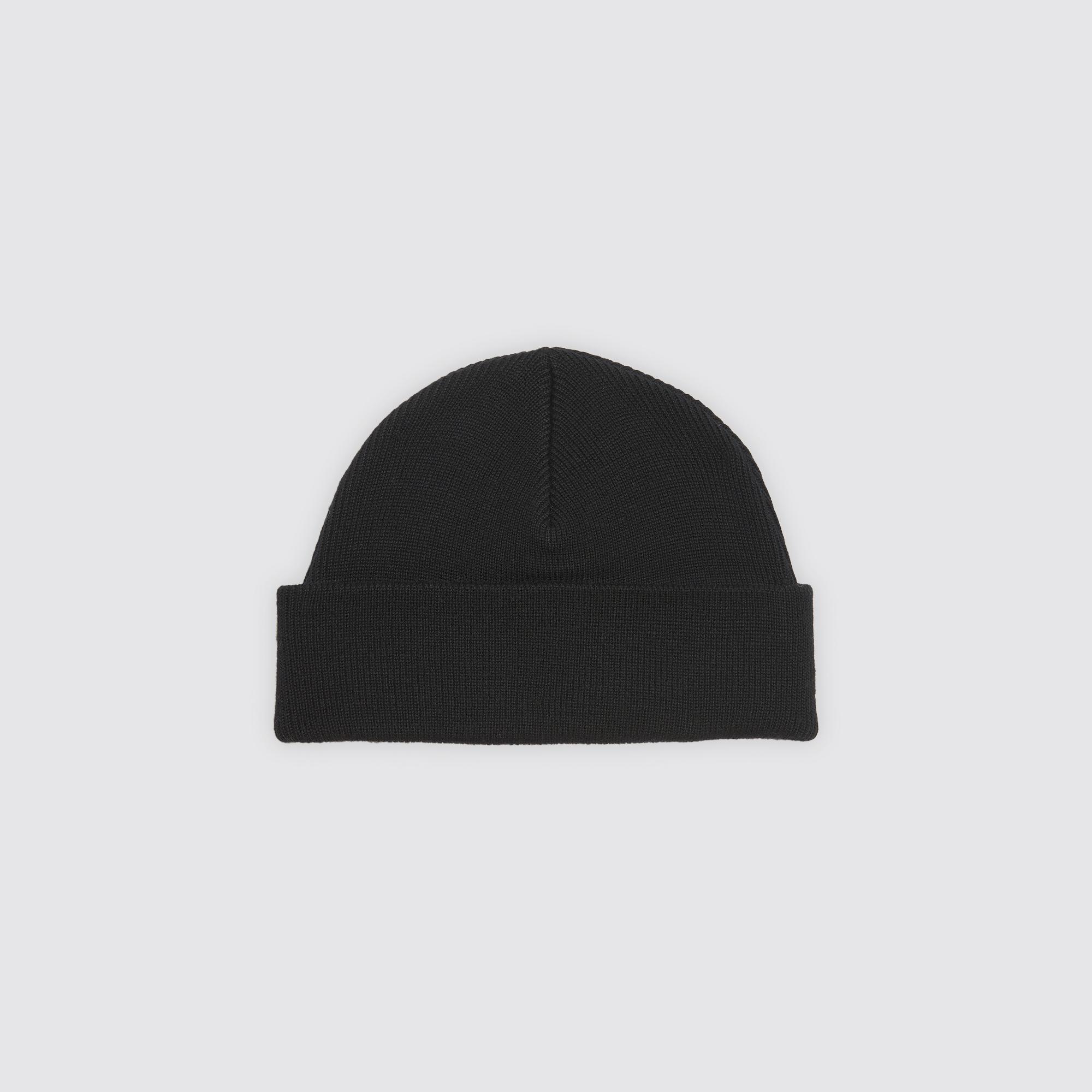 Wool beanie   Hats color Black ... aa55b09f70e