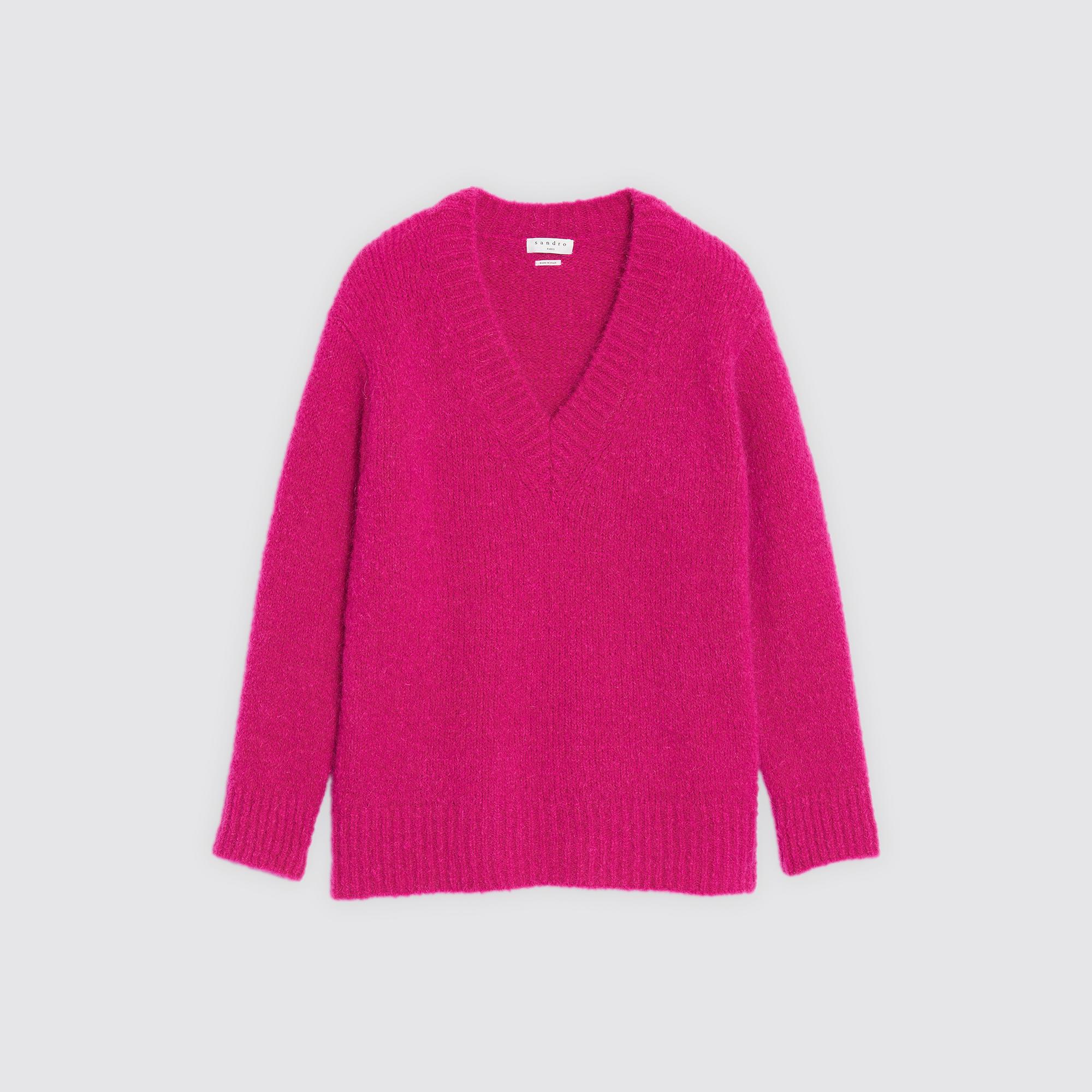 SweatersSandro Mohair Mohair SweatersSandro Sweater Sweater Paris 3qj4A5RL