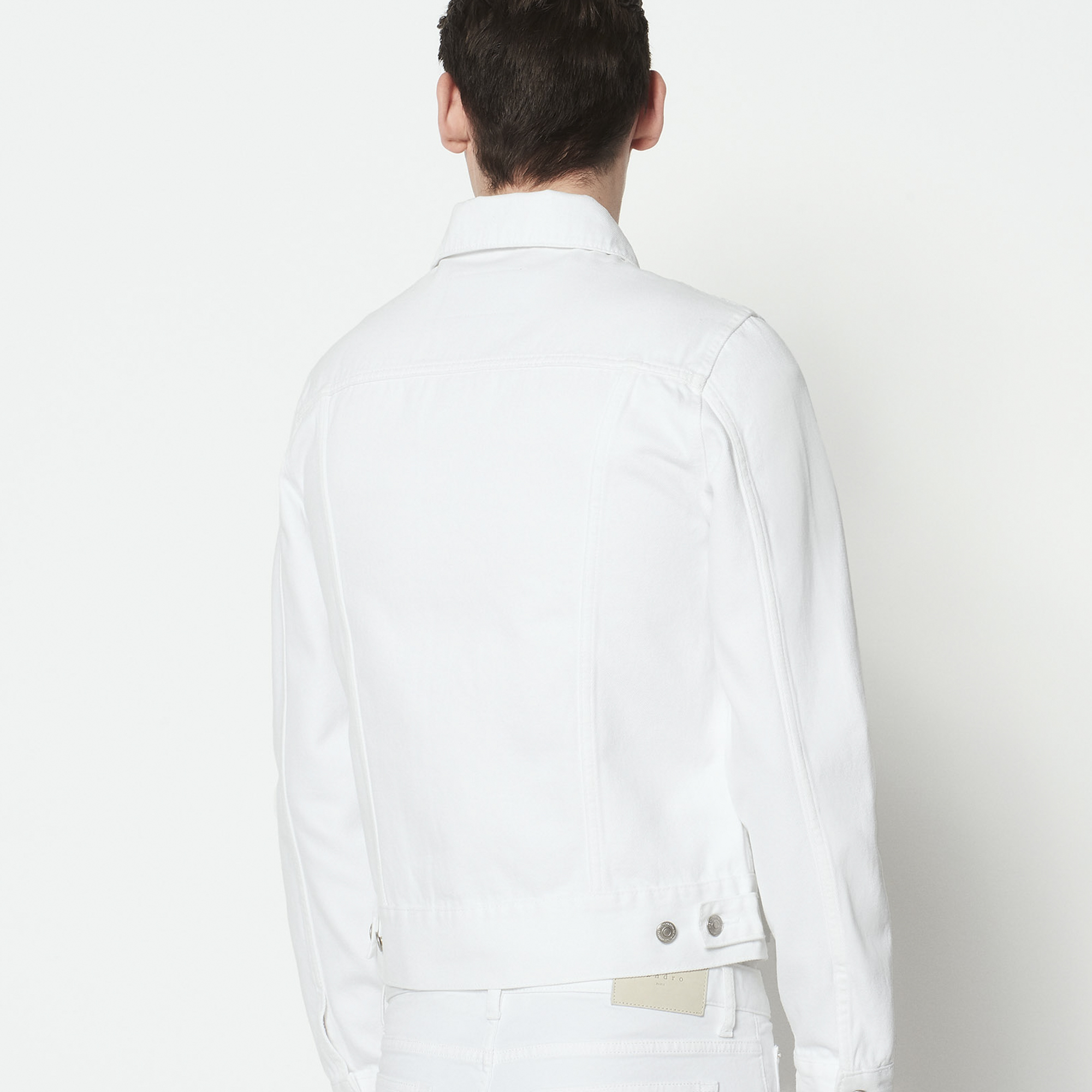 White Coats Jackets Sandro Paris
