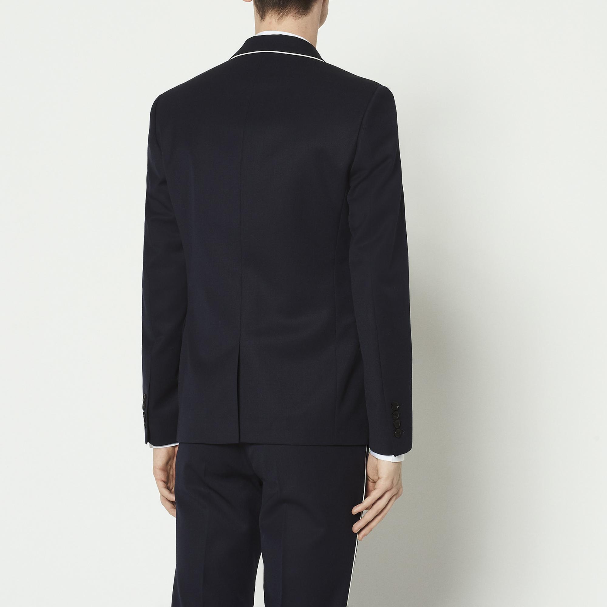 fc11bdcf40 Suit jacket with trim