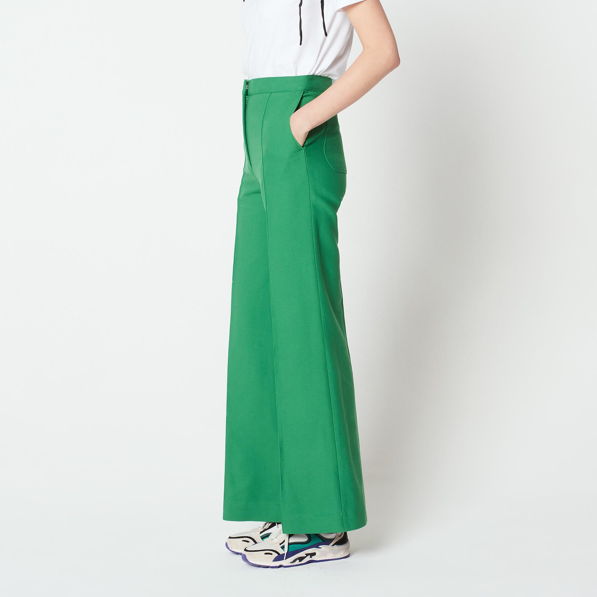 d26092bd6e ... Flared trousers : Pants & Shorts color Navy Blue ...