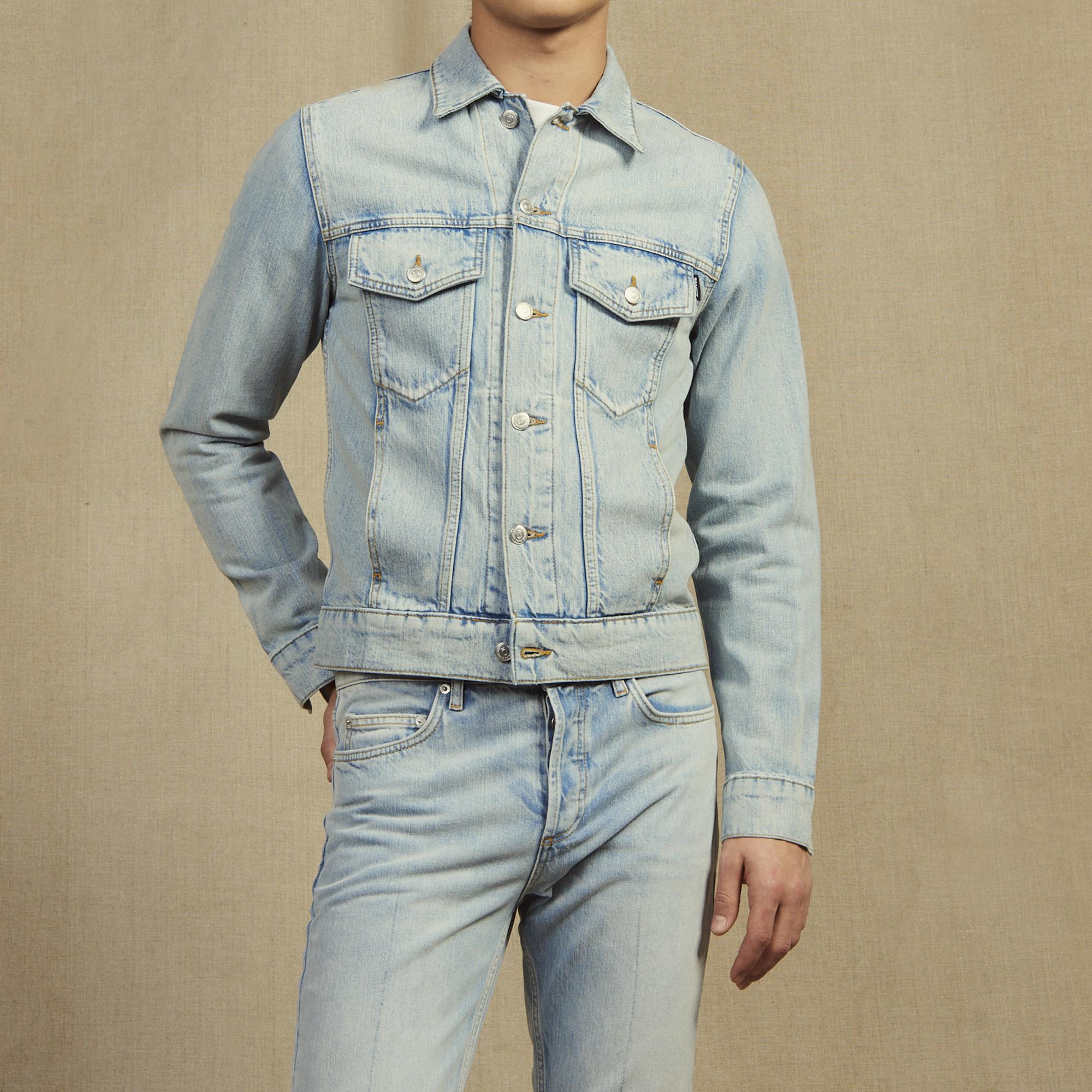 df0549b8cd47a3 Denim Jacket : Jackets color Stone Washed ...