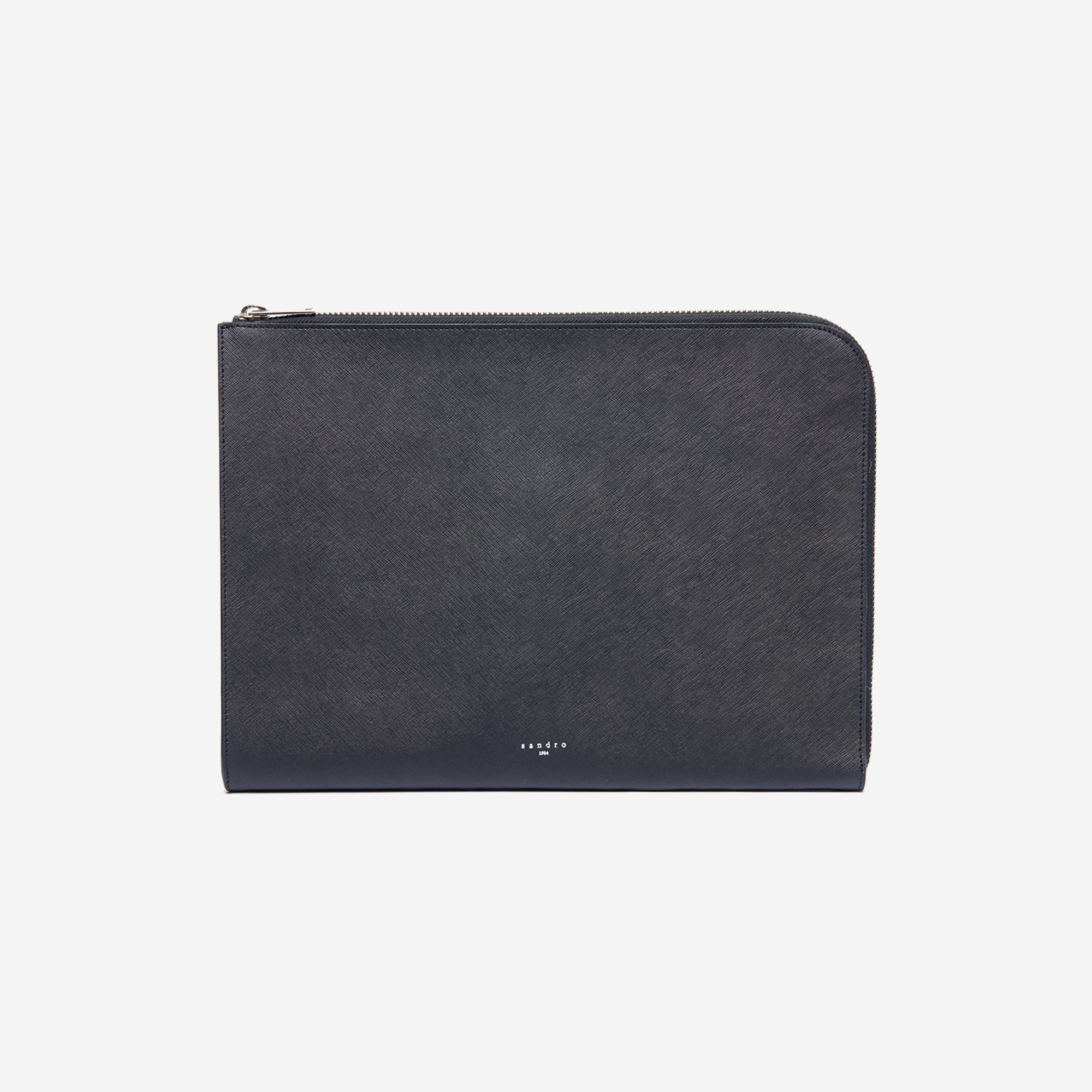 156b872f5c0a Saffiano leather zipped card holder   Bags color Black ...