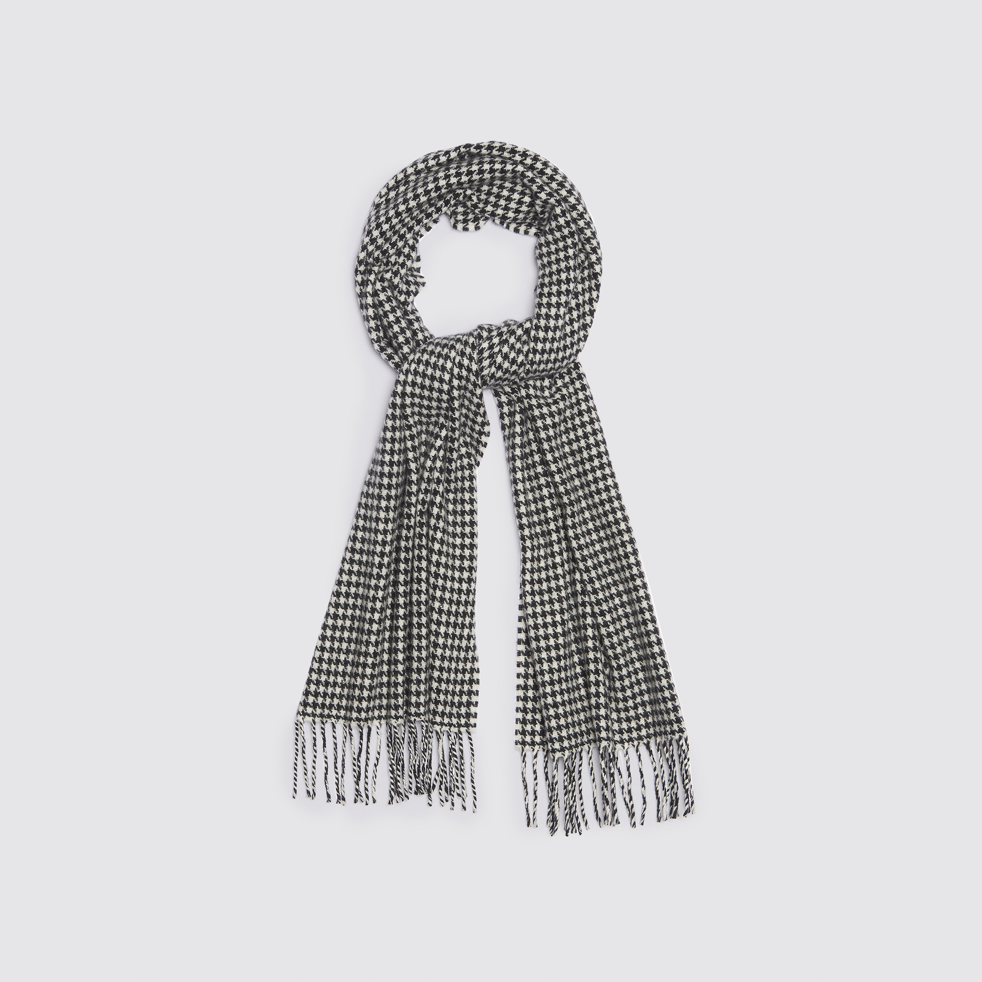 Houndstooth printed scarf - Other Accessories - Sandro-paris.com