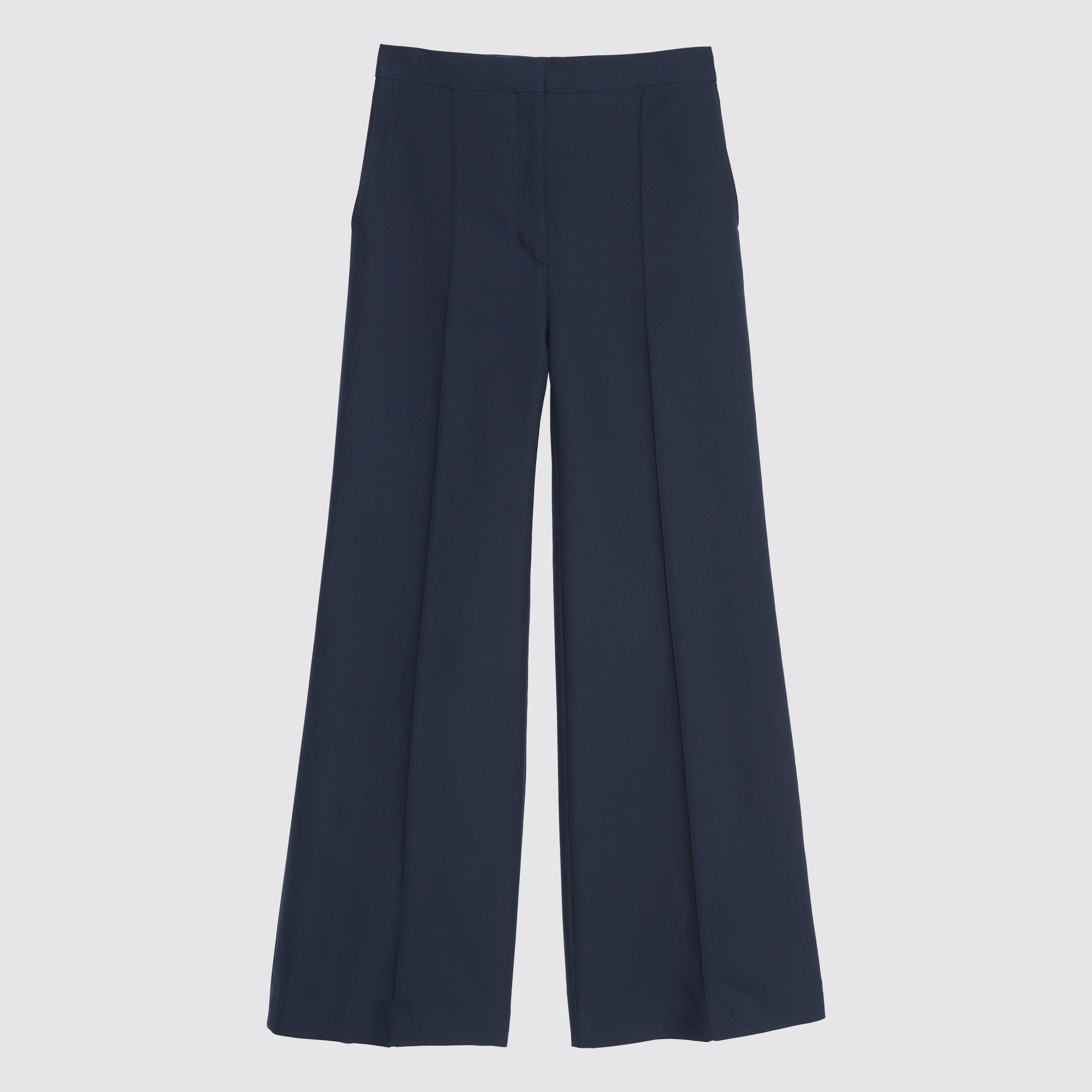 9affe55b2a ... Flared trousers : Pants & Shorts color Navy Blue