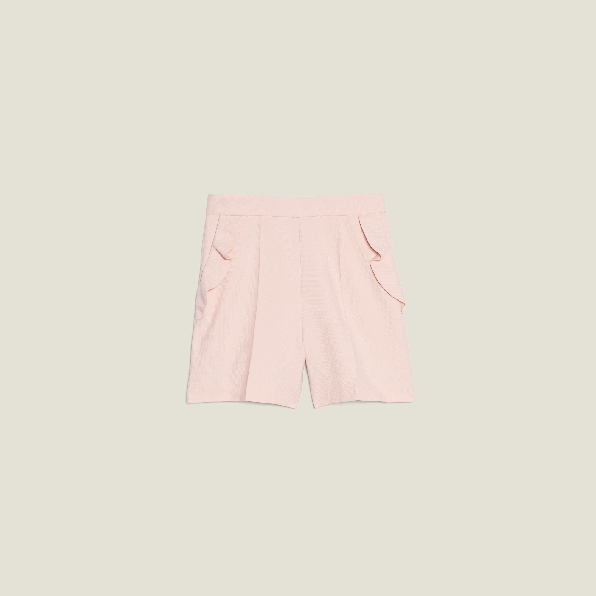bbefdb9f229cc8 High Waisted Shorts With Ruffles
