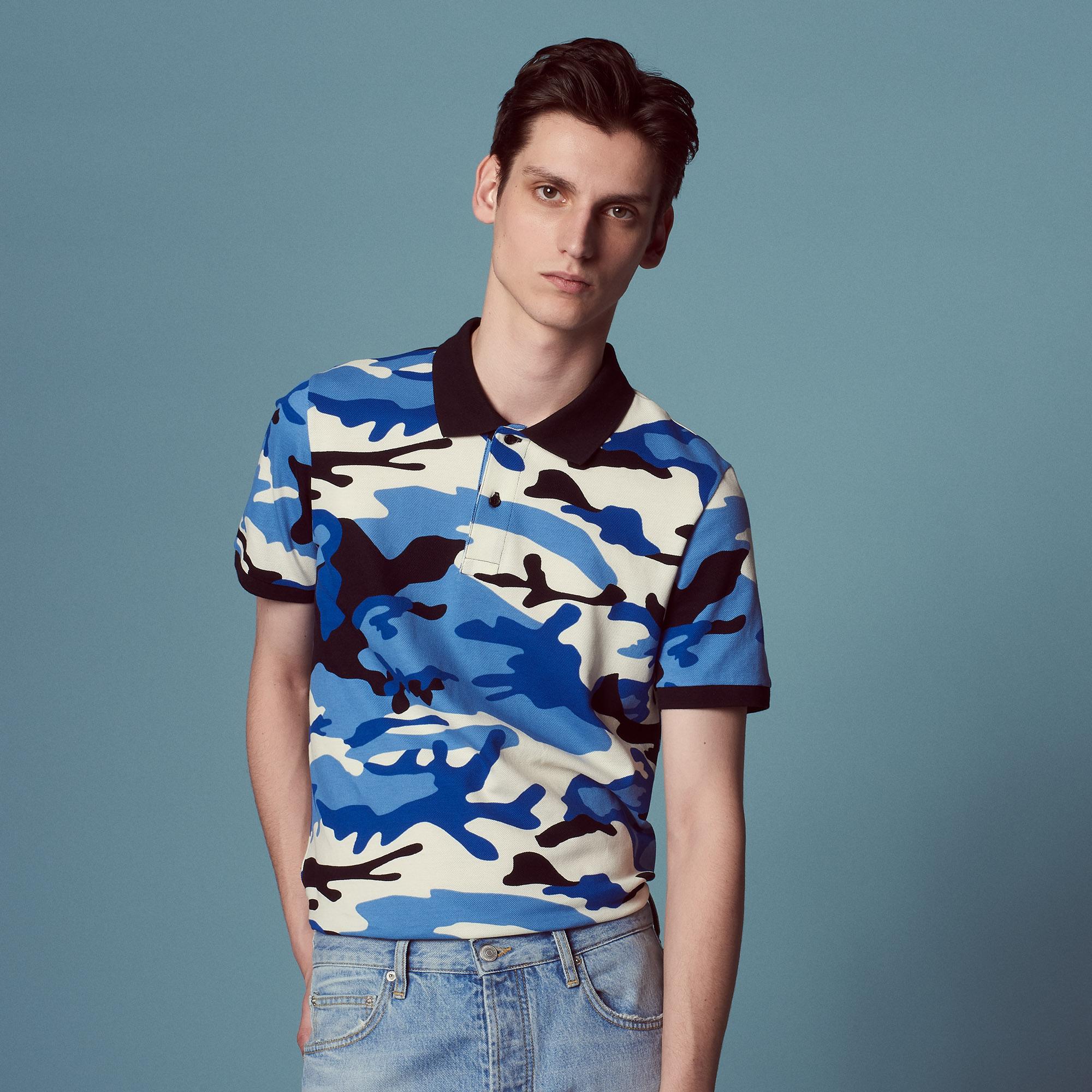 8dc11846 Camo - T-shirts & Polos   Sandro Paris